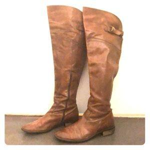 Lavorazione Artigiana brown leather boots